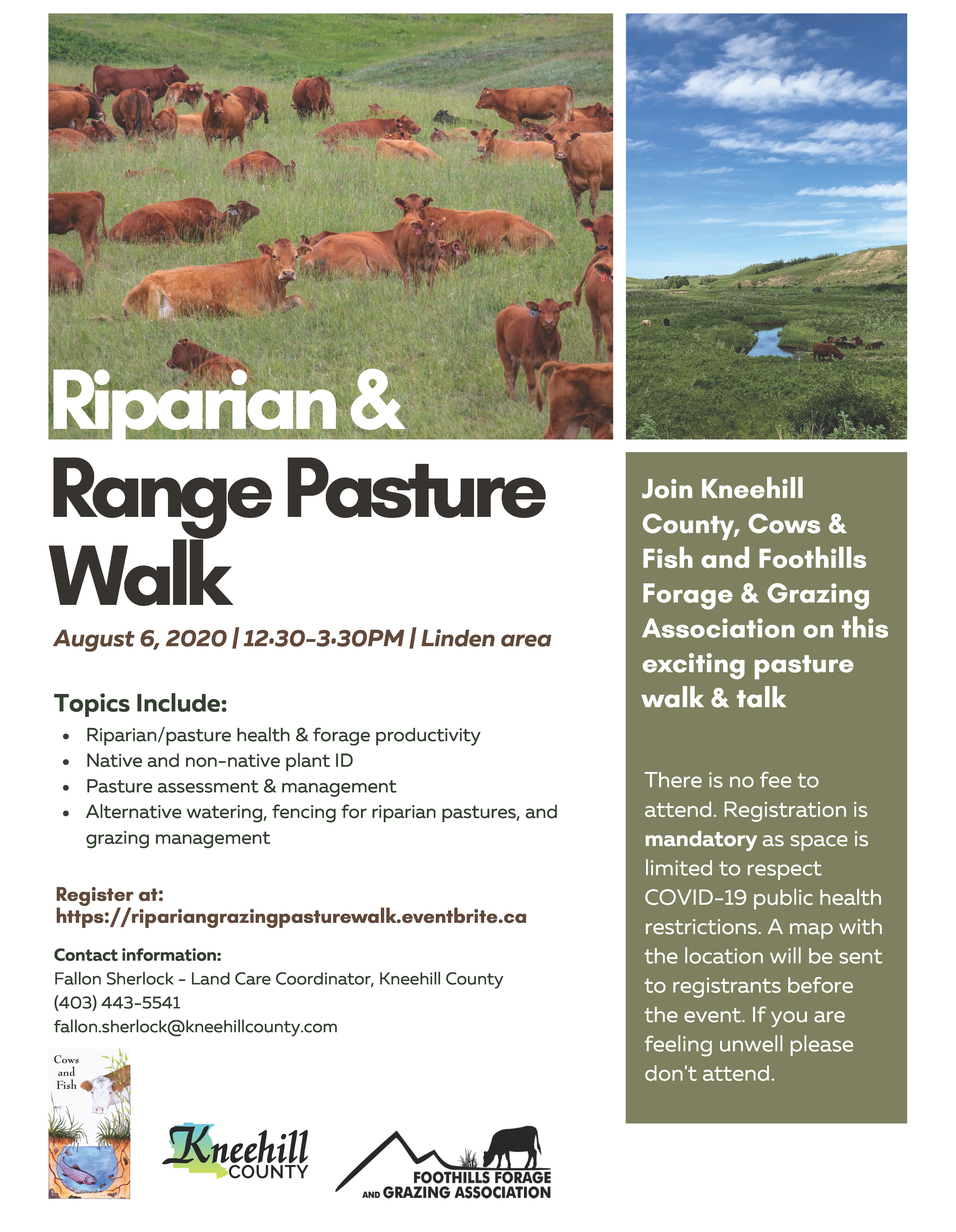 Riparian & Range Pasture Walk